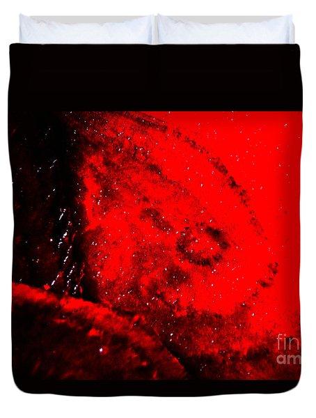 Implosion Duvet Cover by Eva Maria Nova