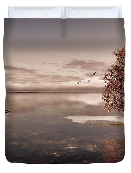 In Dreams Duvet Cover by Lourry Legarde