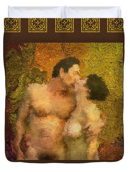In Love Duvet Cover by Kurt Van Wagner