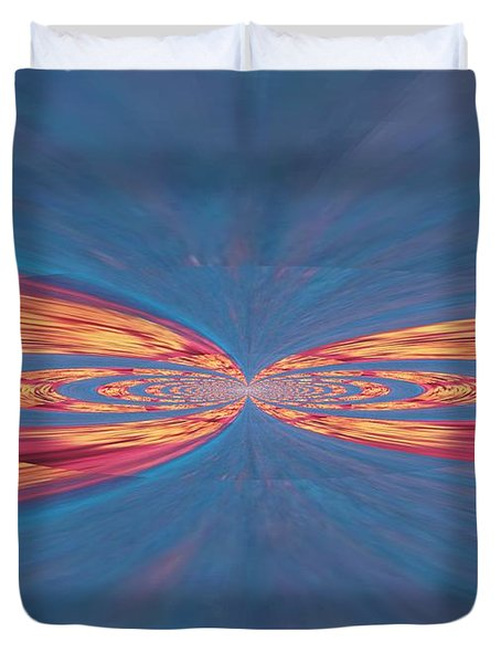 In Touch Duvet Cover by Kathy Bucari