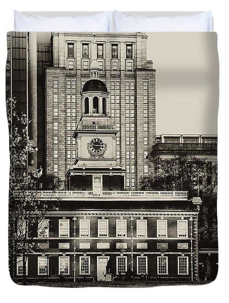 Independence Hall Duvet Cover by Bill Cannon
