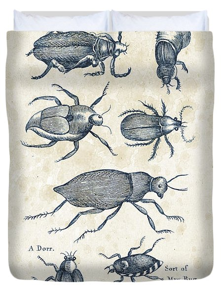 Insects - 1792 - 02 Duvet Cover by Aged Pixel