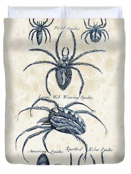 Insects - 1792 - 18 Duvet Cover by Aged Pixel
