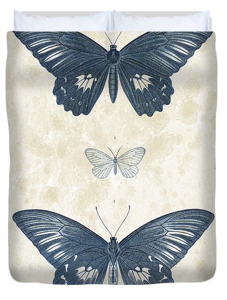 Insects - 1832 - 01 Duvet Cover by Aged Pixel