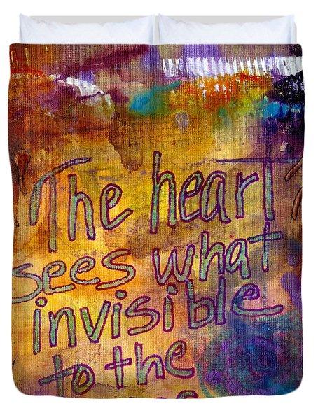 Inside Out Duvet Cover by Angela L Walker