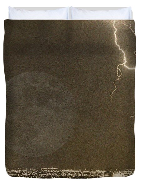Into The Night Duvet Cover by James BO  Insogna