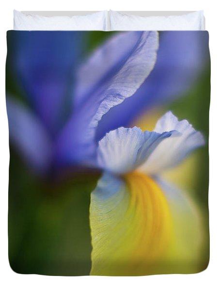 Iris Grace Duvet Cover by Mike Reid