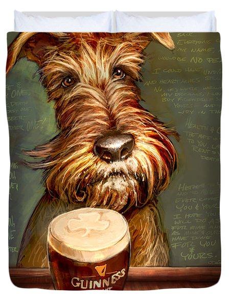 Irish Stout Duvet Cover by Sean ODaniels