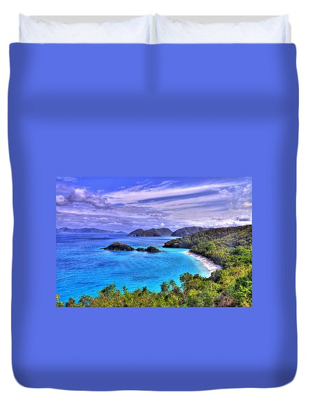 Isle Of Sands Duvet Cover by Scott Mahon