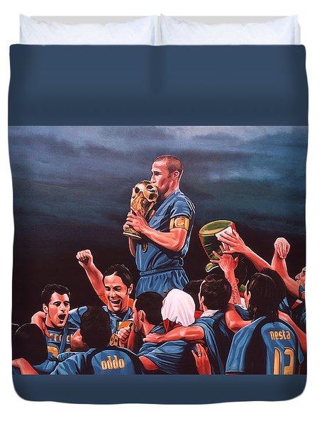 Italia The Blues Duvet Cover by Paul Meijering