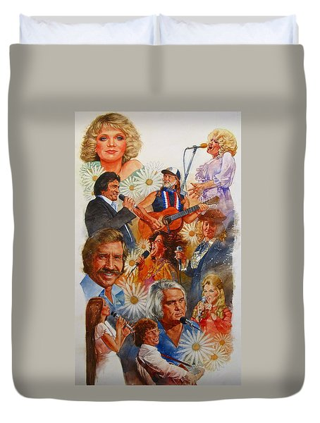 Its Country 1 Duvet Cover by Cliff Spohn