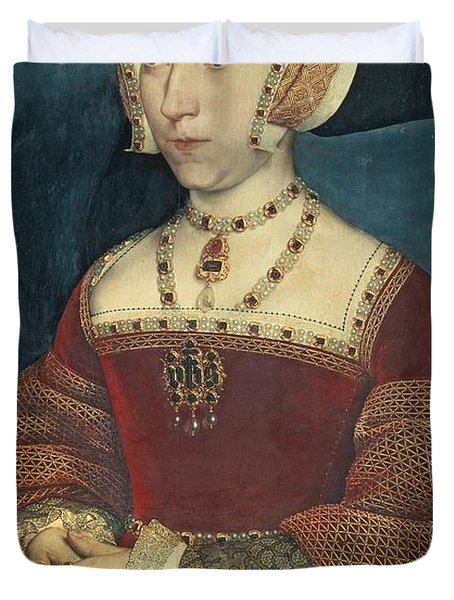 Jane Seymour Duvet Cover by Holbein