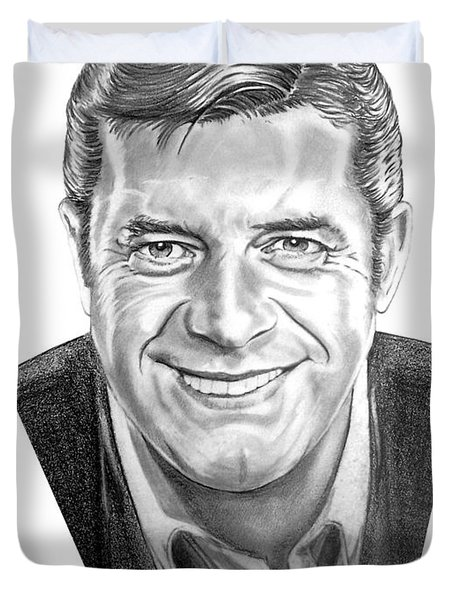 Jerry Lewis Duvet Cover by Murphy Elliott