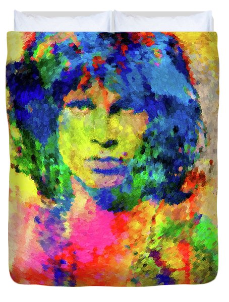 jim morrison painting by gary grayson. Black Bedroom Furniture Sets. Home Design Ideas
