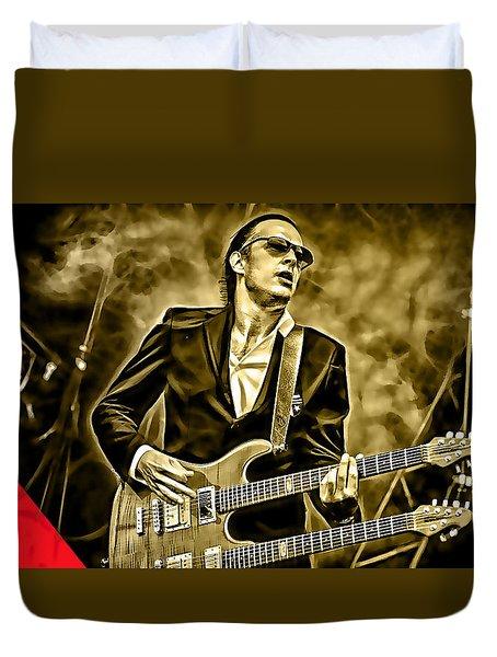 Joe Bonamassa Collection Duvet Cover by Marvin Blaine