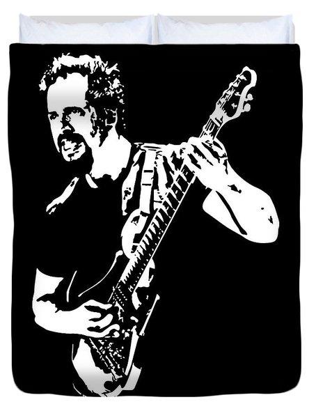 John Petrucci No.01 Duvet Cover by Caio Caldas