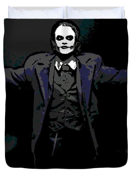 Joker Duvet Cover by George Pedro