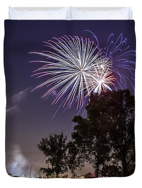July 4th 2012 Duvet Cover by CJ Schmit