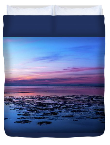 Duvet Cover featuring the photograph Just Let Me Breathe by Thierry Bouriat