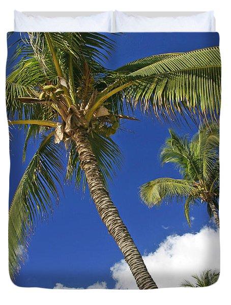Kamaole Beach Duvet Cover by Ron Dahlquist - Printscapes