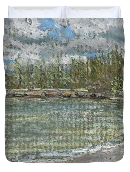 Kawela Bay Duvet Cover by Patti Bruce - Printscapes