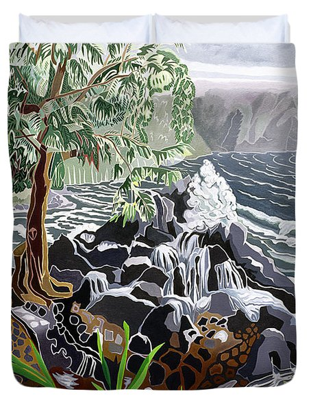 Keanae Duvet Cover by Fay Biegun - Printscapes