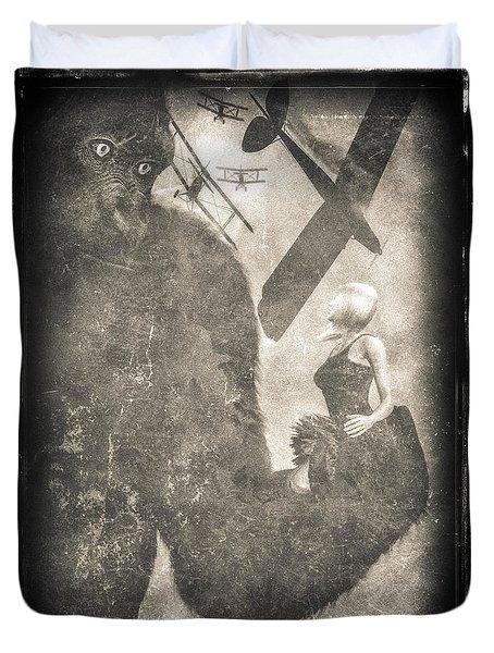 King Kong Duvet Cover by Bob Orsillo