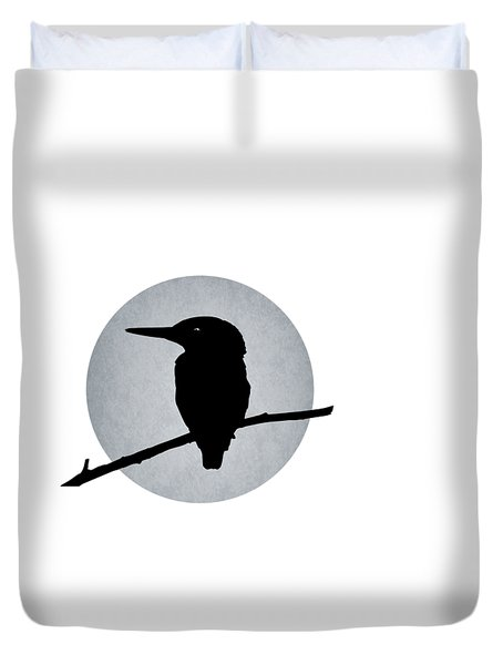 Kingfisher Duvet Cover by Mark Rogan