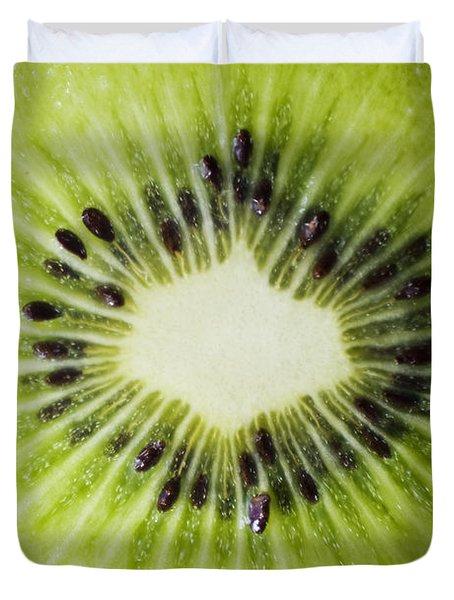 Kiwi Cut Duvet Cover by Ray Laskowitz - Printscapes