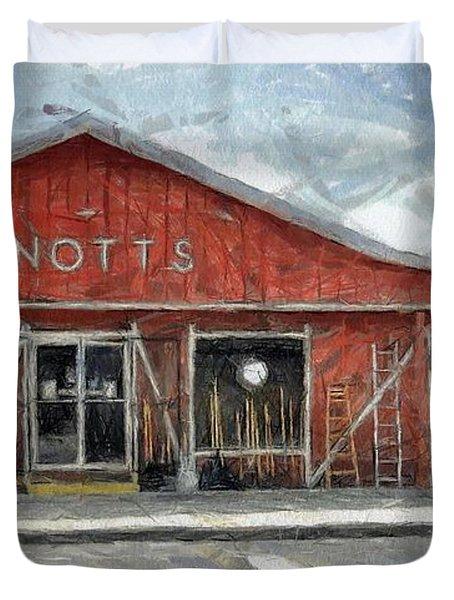 Knott's Hardware Duvet Cover by Murphy Elliott