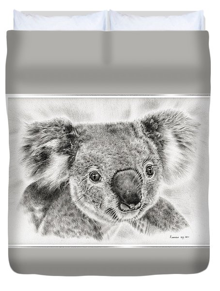 Koala Newport Bridge Gloria Duvet Cover by Remrov