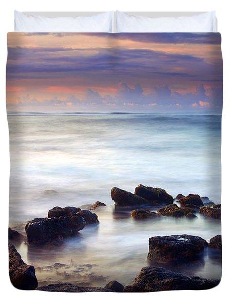 Koloa Sunrise Duvet Cover by Mike  Dawson