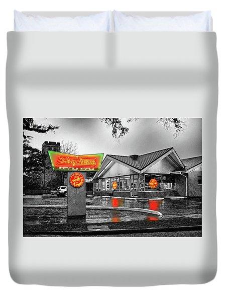 Krispy Kreme Duvet Cover by Michael Thomas