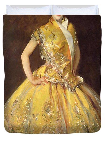 La Carmencita Duvet Cover by John Singer Sargent