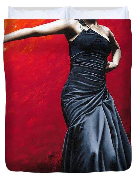 La Nobleza Del Flamenco Duvet Cover by Richard Young