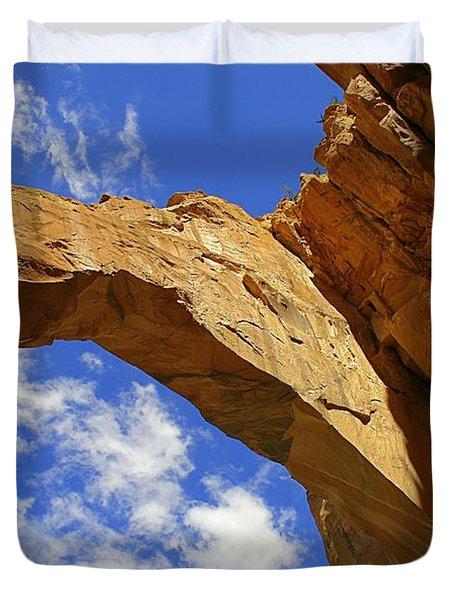 La Ventana Natural Arch Duvet Cover by Christine Till