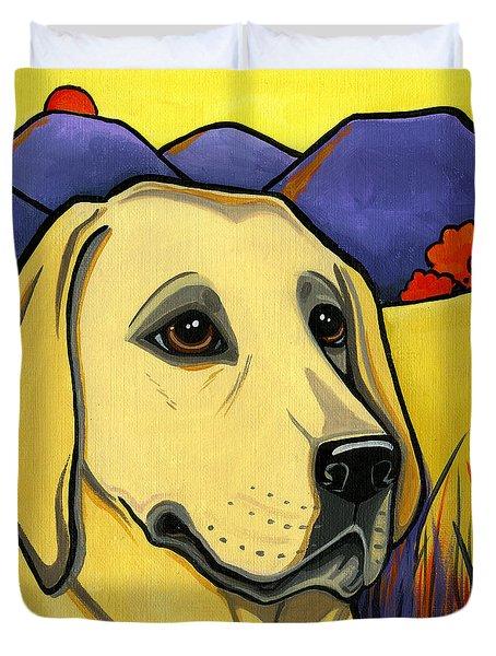 Labrador Duvet Cover by Leanne Wilkes