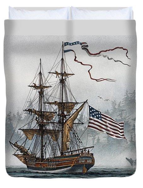 Lady Washington Duvet Cover by James Williamson