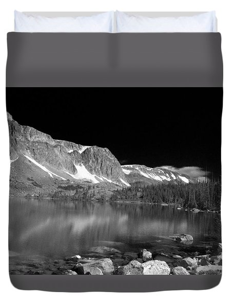 Lake Marie and Company Duvet Cover by Nena Trapp