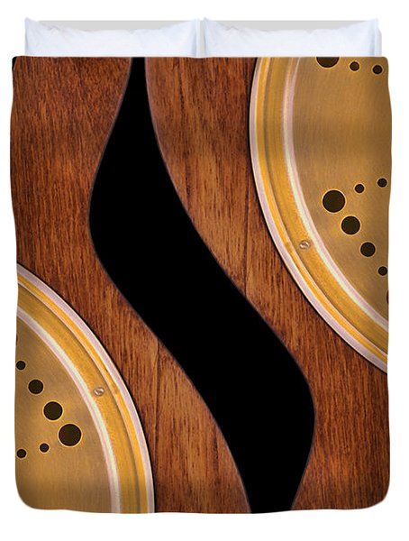 Lap Guitars        Duvet Cover by Mike McGlothlen