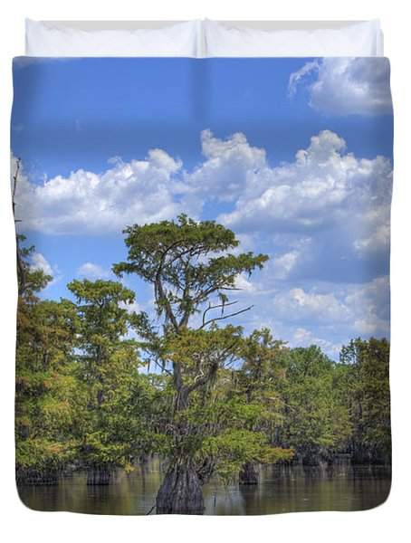 Largemouth Country Duvet Cover by Barry Jones