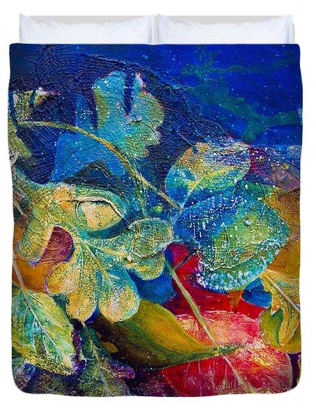 Leafin An Imprint Duvet Cover by Jo-Anne Gazo-McKim