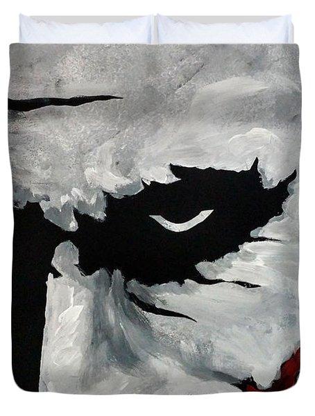 Ledger's Joker Duvet Cover by Dale Loos Jr