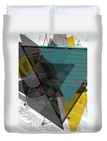 Let There Be Light Duvet Cover by Don Kuing
