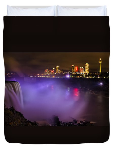 Let There Be Light Duvet Cover by Mark Papke