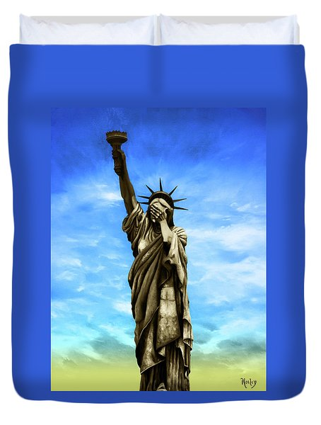 Liberty 2016 Duvet Cover by Kd Neeley
