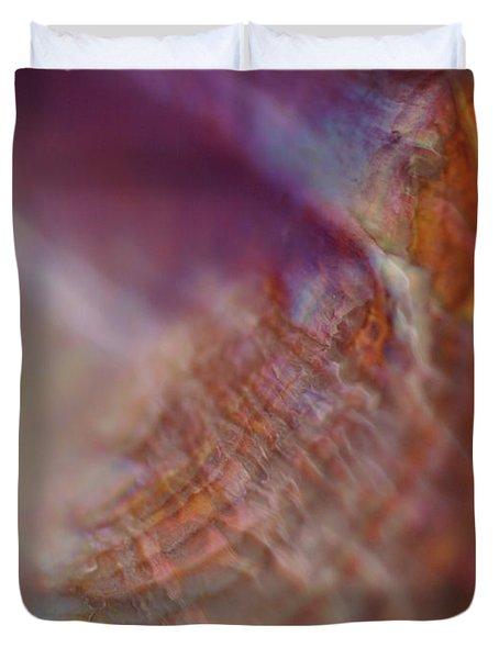 Life At Sea Duvet Cover by Rona Black