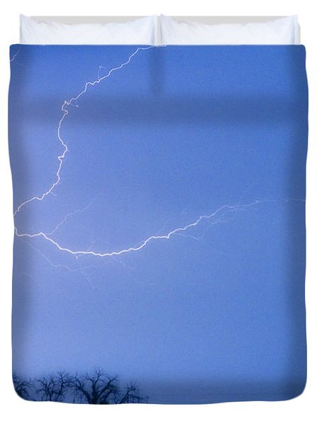 Lightning Crawler Duvet Cover by James BO  Insogna
