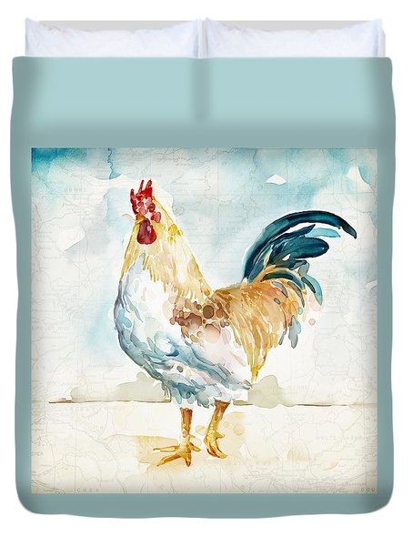 Lightrooster Duvet Cover by Mauro DeVereaux