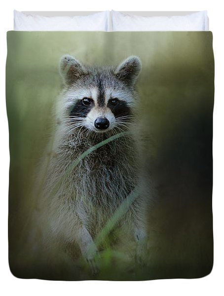 Little Bandit Duvet Cover by Jai Johnson